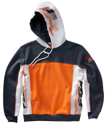 KTM Sweat kid KIDS DECALS ORANGE HOODED